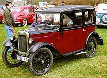 An Austin 7 car